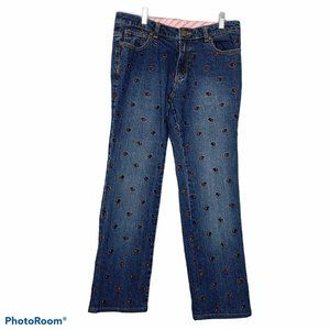 vintage Lilly Pulitzer jeans Scottie embroidered 4